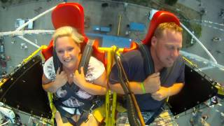 Sling Shot Chair Scares a Big Ol Man