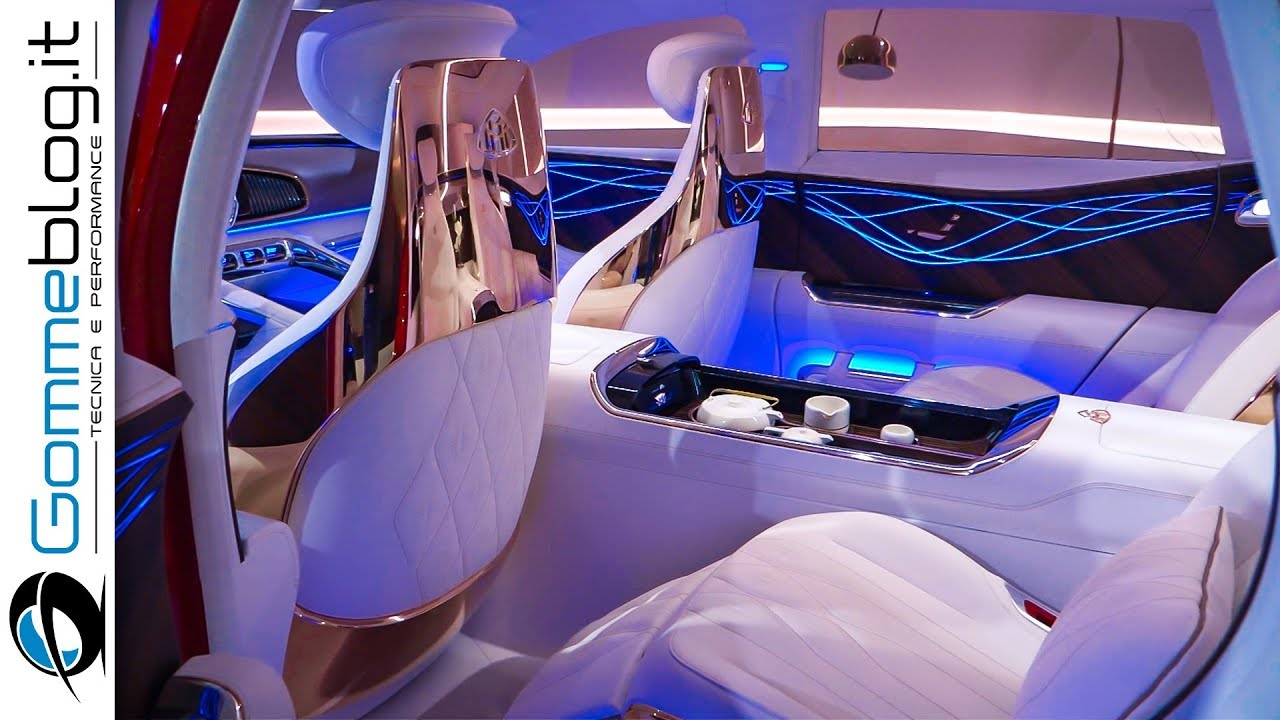 Mercedes Maybach Vision Ultimate Luxury Car Interior Exterior