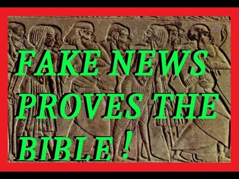 FAKE NEWS Proves Ancient Biblical Account!