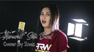 Gambar cover ASMARA - SETIA BAND | COVER BY INES