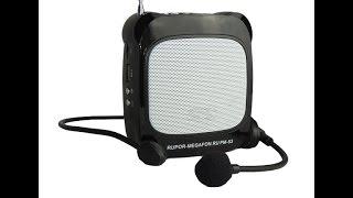 Громкоговоритель мегафон РМ-53 с плеером записью(Краткий видео обзор РМ53., 2015-09-10T16:23:47.000Z)