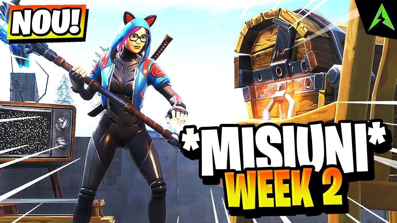 Download *NOILE* Misiuni Din WEEK 2 GASITE! - Types Weapon, Dance Off & Altele!