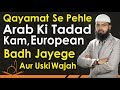 Download Qayamat Se Pehle Arab Ki Taadad Kam, European Badh Jayege Aur Uski Wajeh By Adv. Faiz Syed MP3 song and Music Video