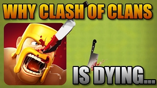 WHY IS CLASH OF CLANS DYING?! 2017 Summary of Clash of Clans Past, Present, and Future! (UPDATED)