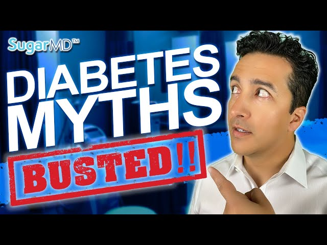 TOP 10 DIABETES MYTHS BUSTED[Surprising Truths]