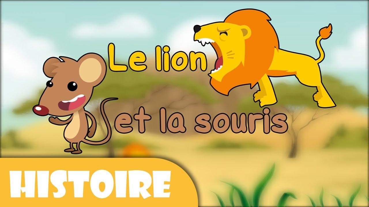 Le lion et la souris histoires avant de s 39 endormir - Image le lion et le rat ...