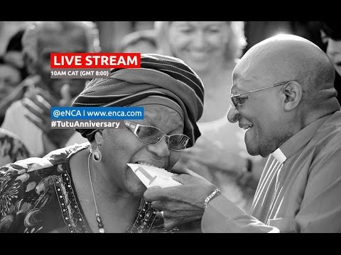 LIVE: Desmond and Leah Tutu renew their wedding vows