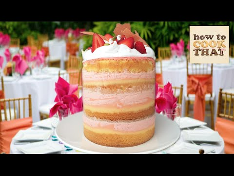 STRAWBERRY CAKE feat STRAWBURRY17 (Popin' Cookin') & HOW TO COOK THAT Ann Reardon
