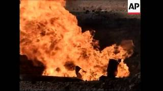 Saboteurs attack oil refinery