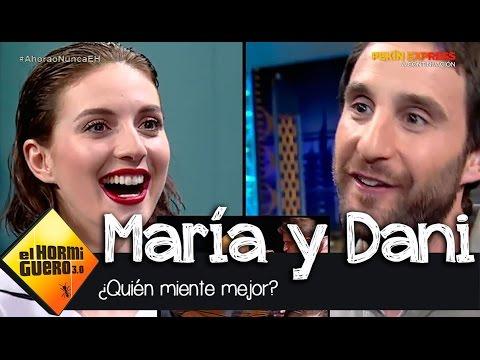 ¿Quién miente mejor María Valverde o Dani Rovira?  El Hormiguero 3.0
