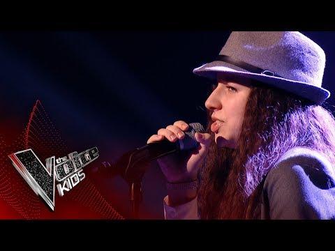 Dominyka performs 'Diamonds': Blinds 3 | The Voice Kids UK 2017