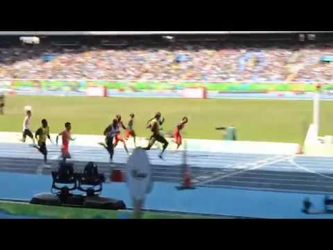 Усэйн Болт выиграл финал на 100 метров в Рио