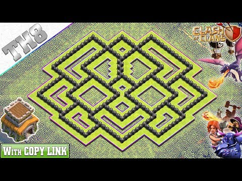 NEW Town Hall 8 (TH8) Hybrid Base 2019 With REPLAY | TH8 Base With COPY LINK - Clash Of Clans