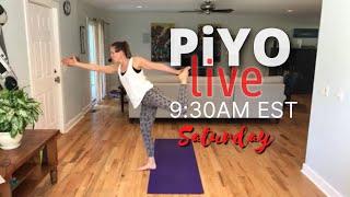 PiYO Yoga Flow Strength & Stretch | No Equipment Low-Impact | All Levels