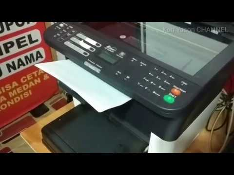 REVIEW Singkat Mesin Fotocopy Mini - Kyocera FS 1120MFP Review