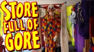 The Best Halloween Store Ever: Shopping For Costumes, Props, & Decorations