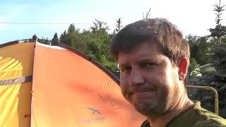 Палатка Easy Camp.  Обзор и веселая сборка c дочерью