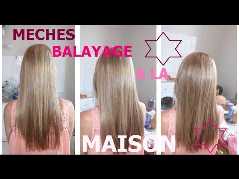 ► MECHES BALAYAGE A LA MAISON
