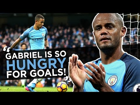 GABRIEL JESUS IS SO HUNGRY FOR GOALS! | Vincent Kompany Quickfire Q&A