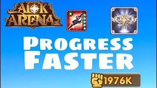 PROGRESS FASTER TIPS | how to progress faster | AFK Arena