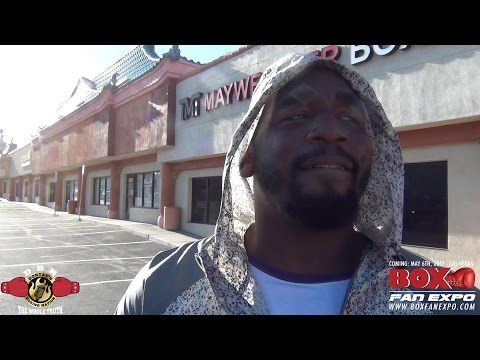 MARCELLUS WILLIAMS GETS CHALLENGED WHILE BREAKING DOWN KOVALEV-WARD