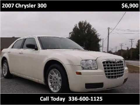 2007 chrysler 300 used cars high point nc youtube. Black Bedroom Furniture Sets. Home Design Ideas