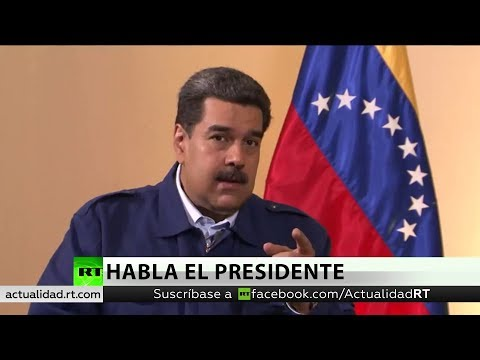 Nicolás Maduro habla en exclusiva con RT de la crisis política de Venezuela