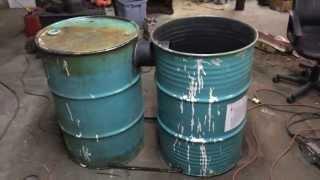 Barrel Stove Build (no Kit) - Part 1