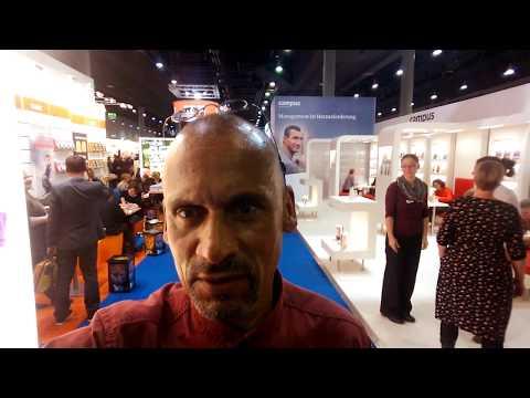 Christopher L. Ries auf der Frankfurter Buchmesse 2017
