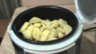 Курица запеченная с картофелем в мультиварке Panasonic TMH10