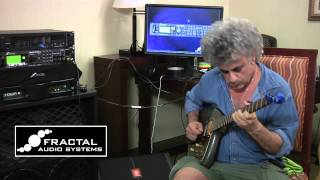 Eric Wollman performs live in the Fractal Audio Suite at the 2012 New York Amp show (www.ampshow.com). Eric's Klein guitar was recorded direct through the ...