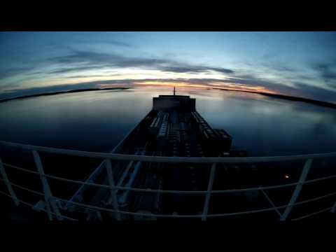 mv Timca - Archipelago sea islands passage timelapse