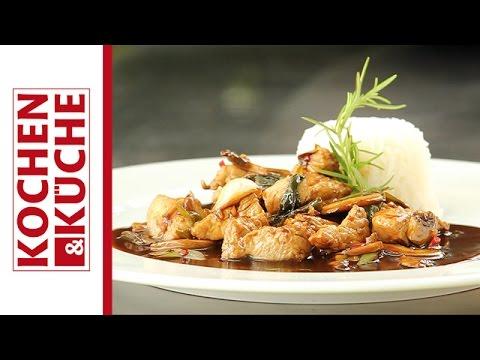 Wok mit Putenfleisch | Kochen und Küche - YouTube