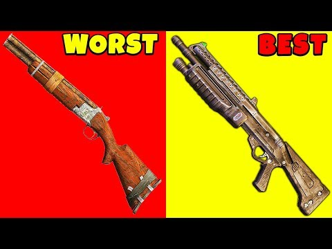 Top 5 Most POWERFUL Shotguns in Video Game History | Chaos