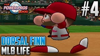 MLB Power Pros 2008 MLB Life Mode | Dorsal Finn (Third Baseman) | EP4 | MLB DEBUT!