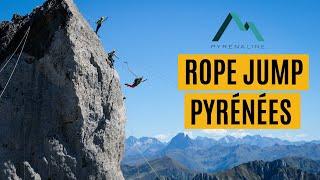 [Teaser] Ansabère, rope jump, highline et base jump by Pyrénaline