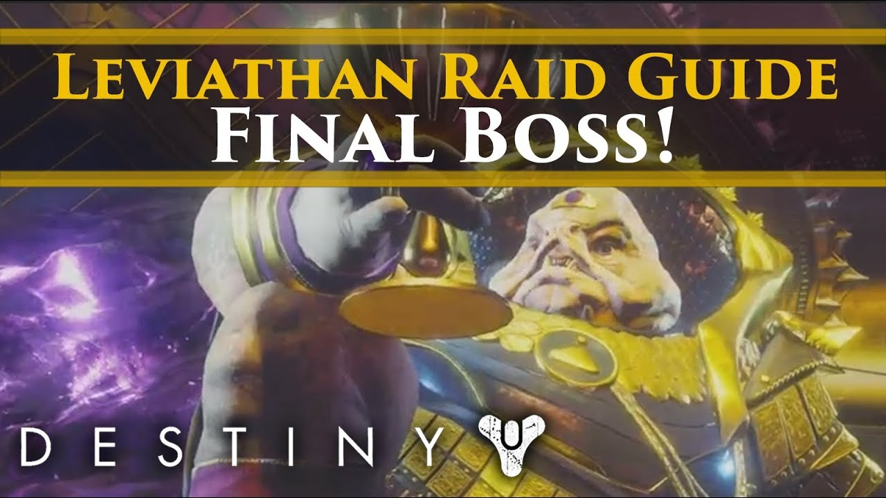 Destiny 2 - Final Destiny 2 Leviathan Raid Boss Guide! Emperor Calus  Complete Walkthrough Guide!
