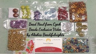 Bead Haul from Czech Beads Exclusive