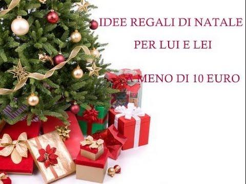 Idee regali di natale per lui e lei a meno di 10 euro for Idee per regali di natale