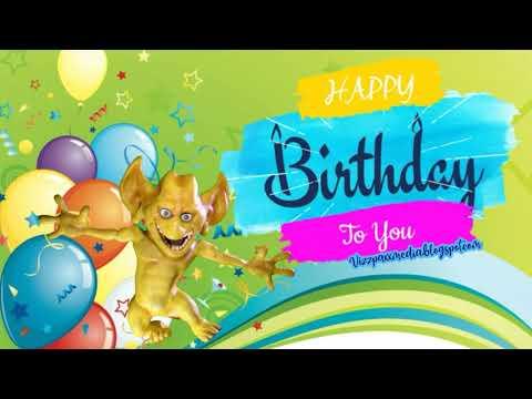 Free Funny Happy Birthday ECard Video Message EGreeting