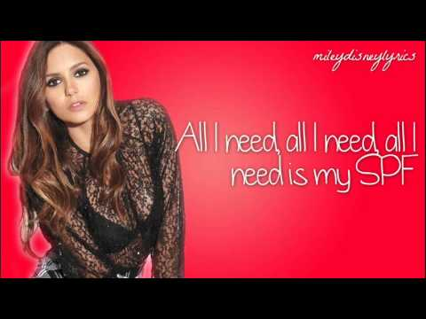 SPF - Nina Dobrev ft. Nick Braun [Lyrics]