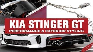 homepage tile video photo for Kia Stinger Performance From Stillen