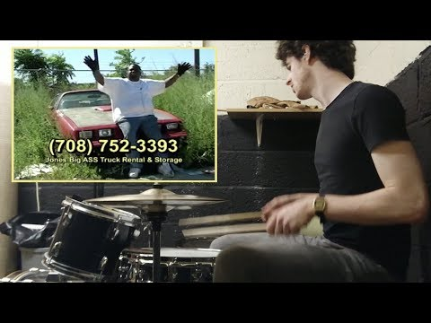 Jones' Big Ass Truck Rental and Storage w/drums