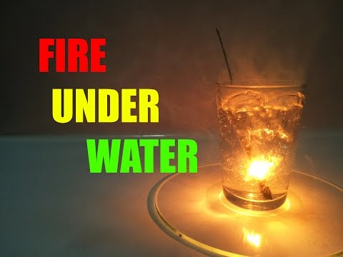 How To Make Fire Underwater !!? (DIY)