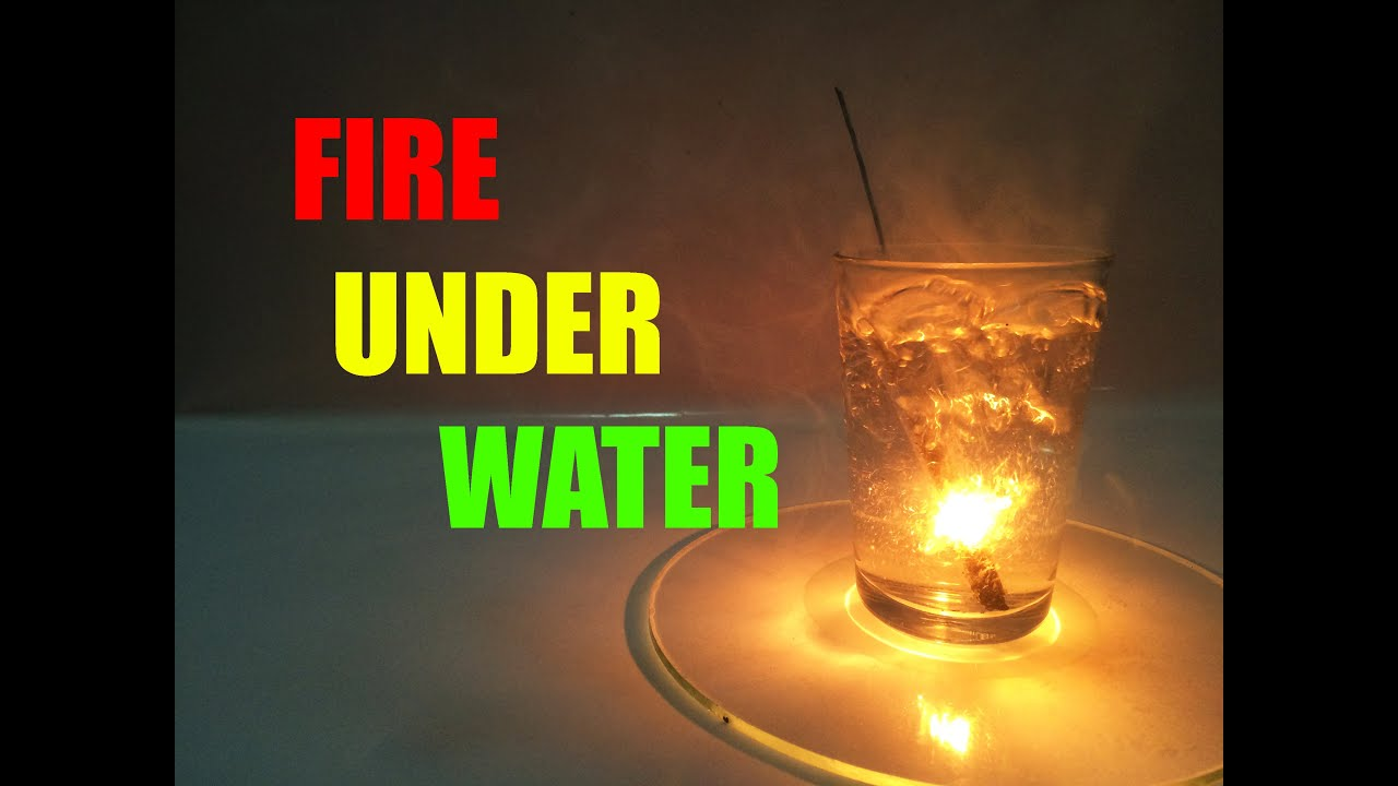 how to make fire underwater !!? (diy) - youtube, Reel Combo