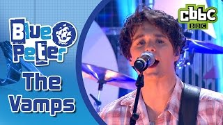 The Vamps perform 'Wake Up' live as part of the Blue Peter Children...