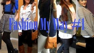 Fashion My Way #1: Work & Shopping Thumbnail
