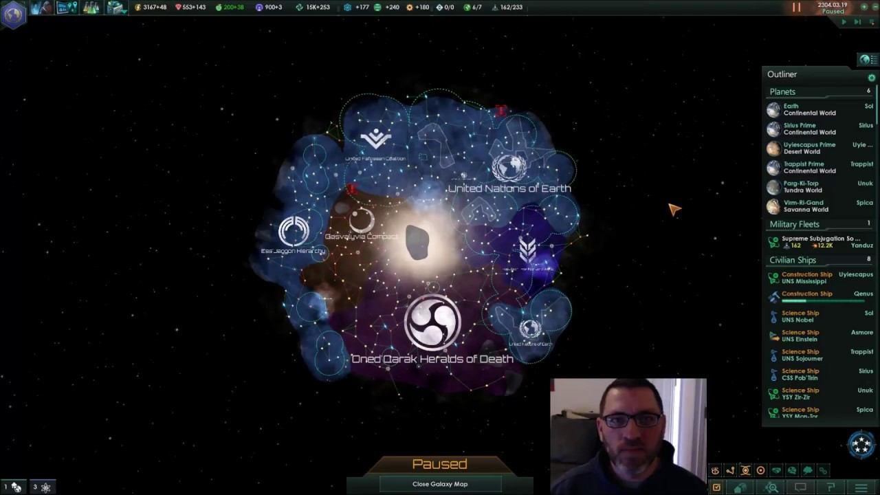 Moderate Spoilers - Horizon Signal / Worm In Waiting (Stellaris)
