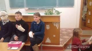 Самый весёлый урок ОБЖ в школе No7 города Пинска