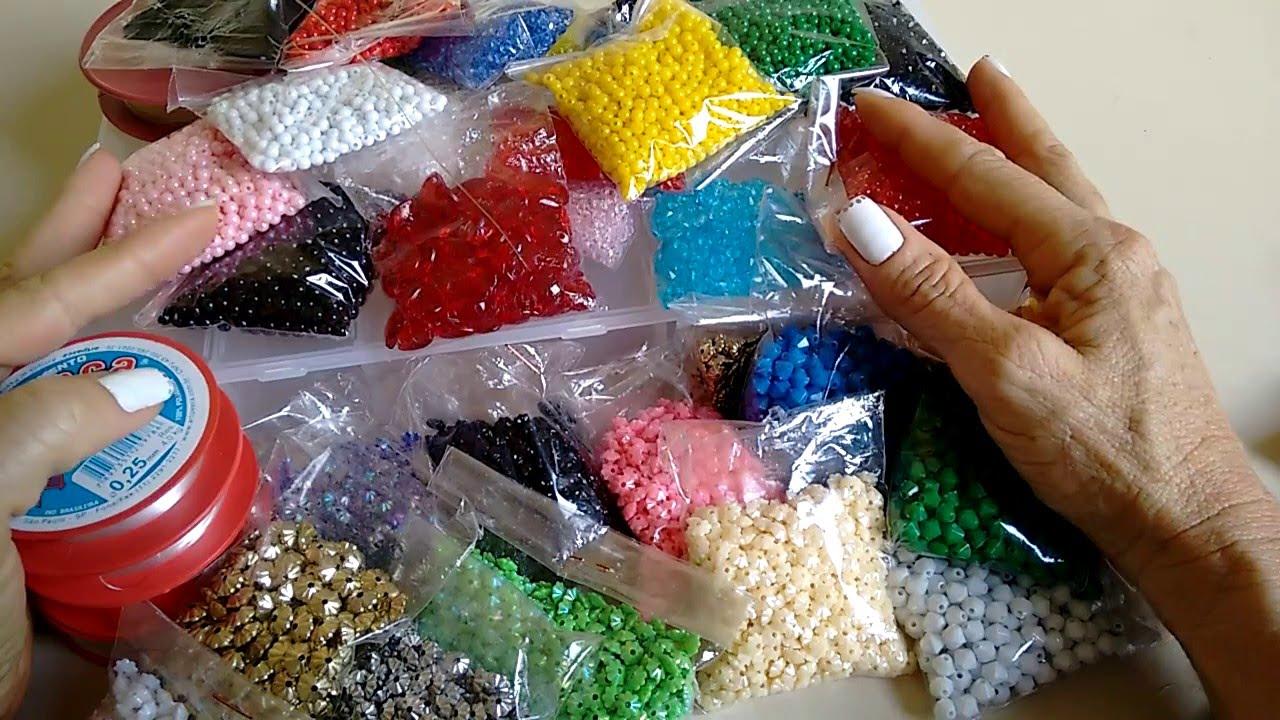 6ab00f279c Compras- Materiais para Bijuterias na 25 de Março Parte 3 - YouTube